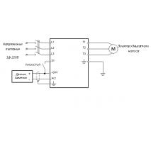 Настройка ПИД- регулятора на ПЧ 8200